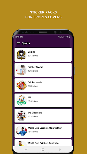 Stickon: WAStickerApps - Trendy Whatsapp Stickers hack tool