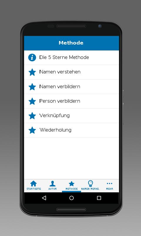 Namen Merken- screenshot