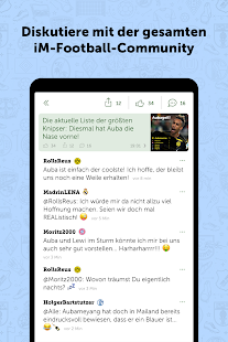 iM Football: Der Fan-Messenger Screenshot