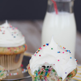 Funfetti Cupcakes for Two Recipe