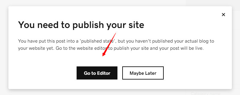 publishing your godaddy site