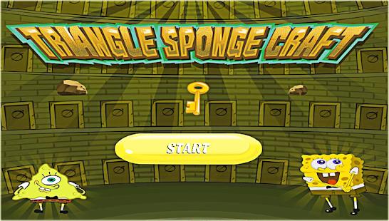 Triangle Sponge Craft - náhled