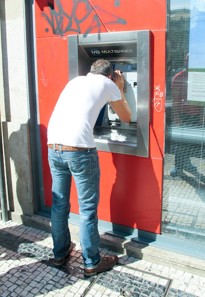 Photo: ATMs for short people.