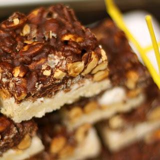 Chocolate Marshmallow Nut Bar.