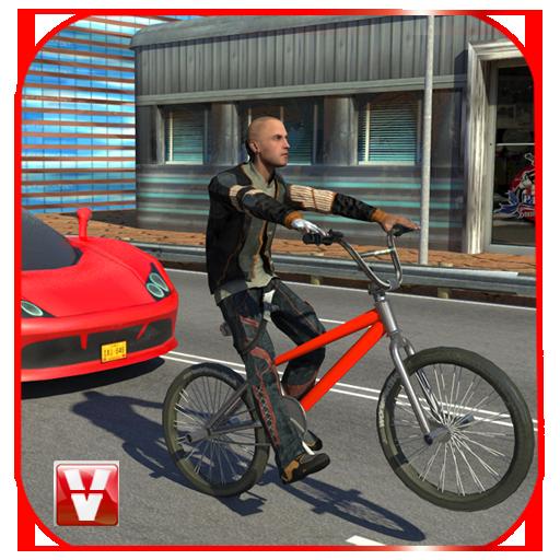 Bicycle Traffic Rider