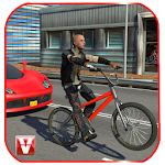 Bicycle Traffic Rider Icon