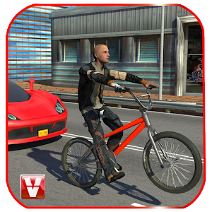 Bicycle Traffic Rider for PC and MAC