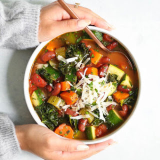 Instant Pot Minestrone Soup.