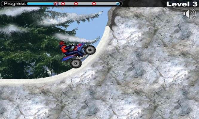 Snow Rivals - Racing Moto - screenshot