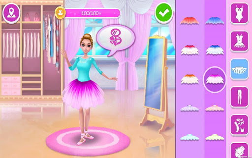 Pretty Ballerina - Dress Up in Style & Dance 1.4.4 Screenshots 6