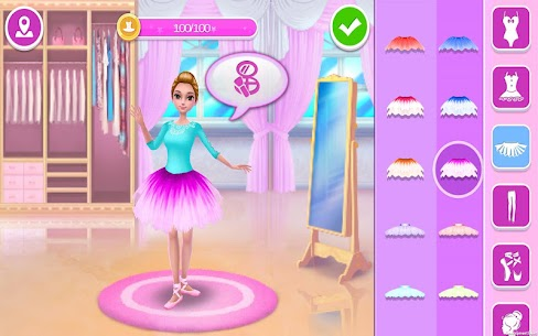 Pretty Ballerina – Dress Up in Style & Dance App Latest Version Download For Android and iPhone 6