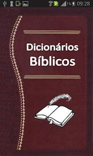 Dicionários Bíblicos - náhled