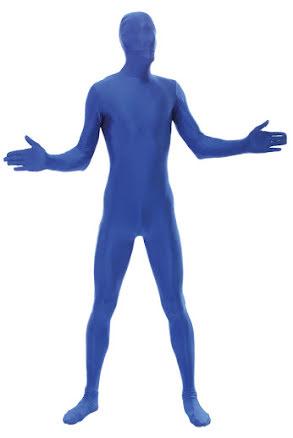 Morphsuit, blå