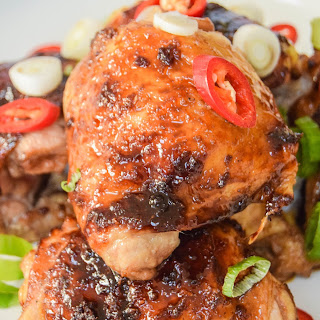 Asian Sticky Chicken Thighs