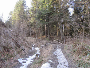 Photo: 03.Po śniegu w dolinie zostały już jedynie nędzne wspomnienia w postaci twardych zmrożonych płatów.