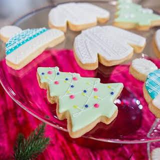 German Butter Cookies.