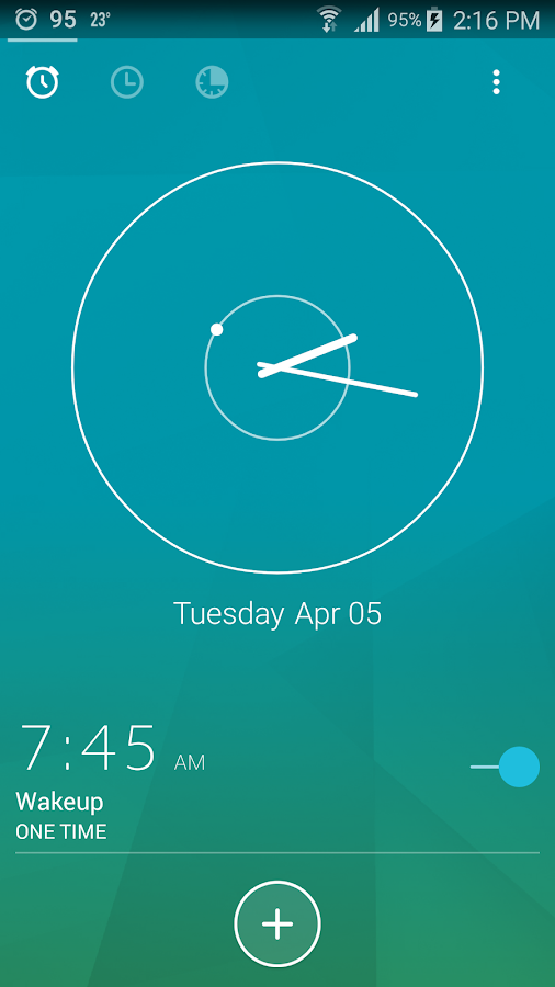 Next Alarm Clock- screenshot