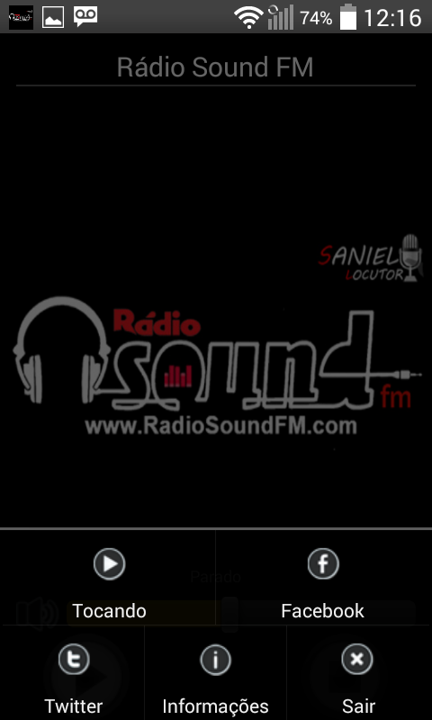 Rádio Sound FM- screenshot