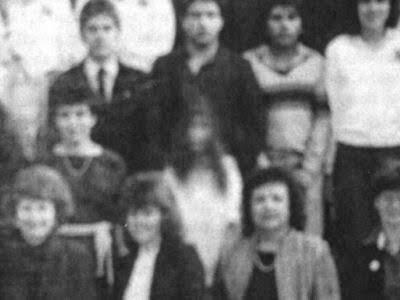 Foto original del fantasma de una chica