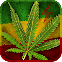 Marijuana Leaf HD Battery icon
