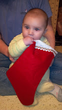 Photo: His contribution was tasting the stockings :)