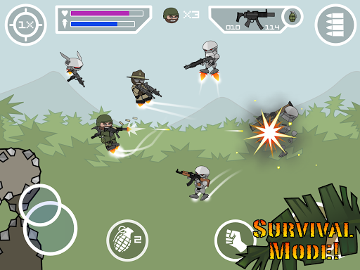 Mini Militia MOD screenshot 12