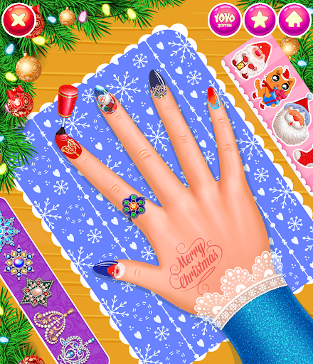 New Year's Nail Salon 1.0.7 screenshots 1