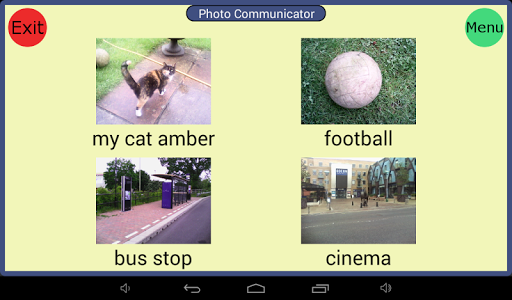 Photo Communicator AAC Lite screenshot 3