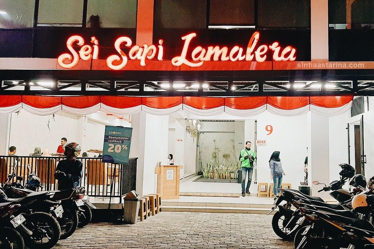 Se'i Sapi Lamalera Bandung - daging asap