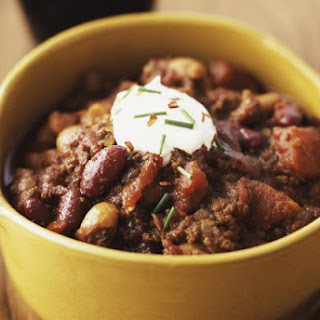 Crockpot Ground Beef Chili