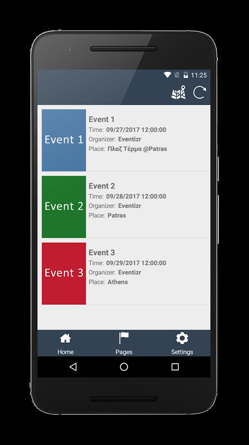 Eventizr - Events made easy - στιγμιότυπο οθόνης