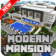 New Modern Mansion Map for Minecraft PE APK for Bluestacks