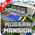 New Modern Mansion Map for Minecraft PE apk