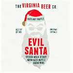 Virginia Beer Co. Hazelnut Truffle Evil Santa