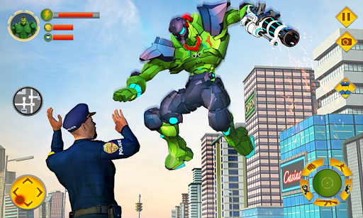 Incredible Monster Robot Hero Crime Shooting Game 1.7 screenshots 1