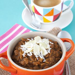 Gingerbread Latte Oatmeal