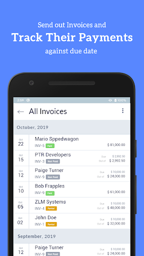 Accounting Bookkeeping - Invoice Expense Inventory 1.75 screenshots 8