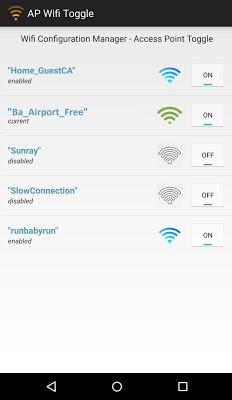 Wi-Fi Networks - screenshot