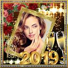 Marcos de fotos de año nuevo 2019 icon