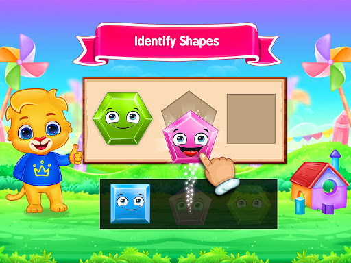 Colors & Shapes - Kids Learn Color and Shape screenshots 18