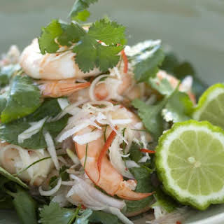 Shrimp and Coconut Salad.