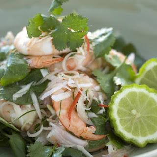 Shrimp and Coconut Salad.