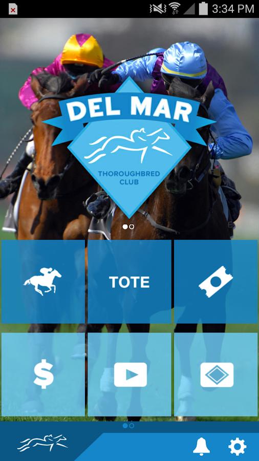 Del Mar Thoroughbred Club- screenshot