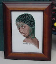 Photo: Pearl by Green Apple. Stitched this in September 2003 for a stitching friend.