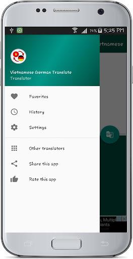Vietnamese German Translate 1.2 screenshots 13