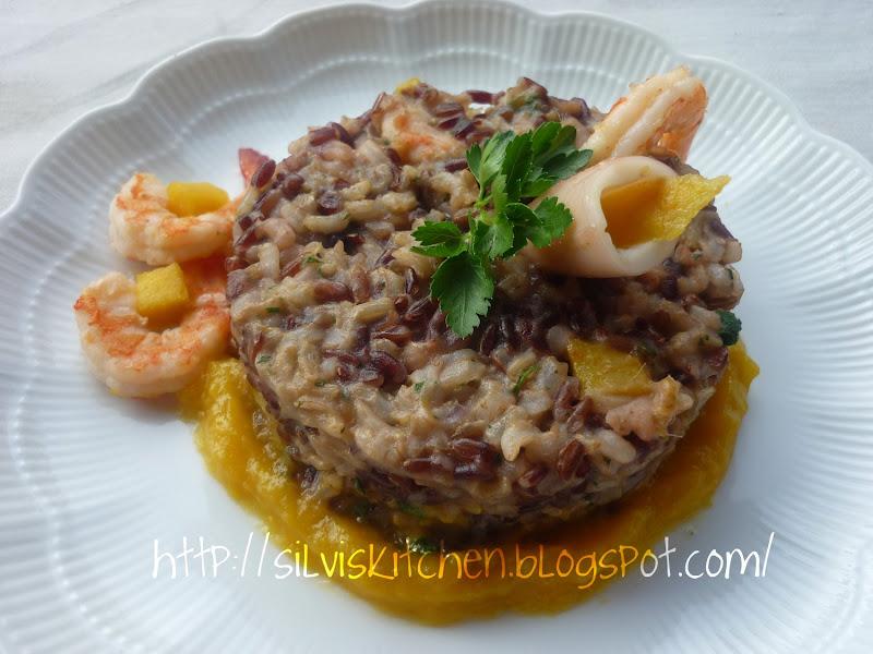 Photo: http://silviskitchen.blogspot.com/ Timballo di riso esotico