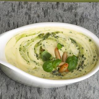 Basilikum-Pesto-Hollandaise
