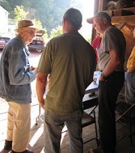 Photo: Dick Grimm at 2009 Clear Creek Foray with David Miller. Photography by Pete Richards.
