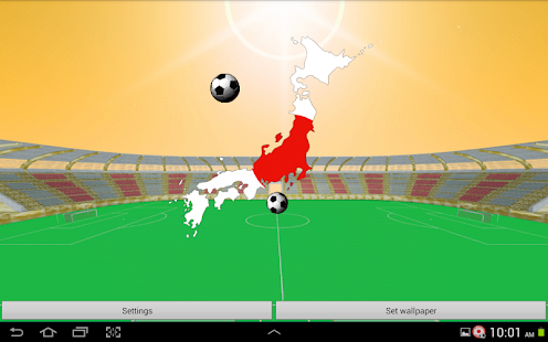 Japan Football Wallpaper- screenshot thumbnail