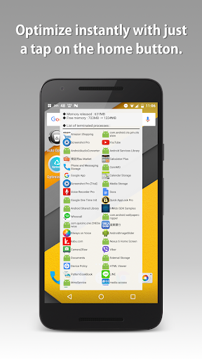 Auto Optimizer app for Android screenshot